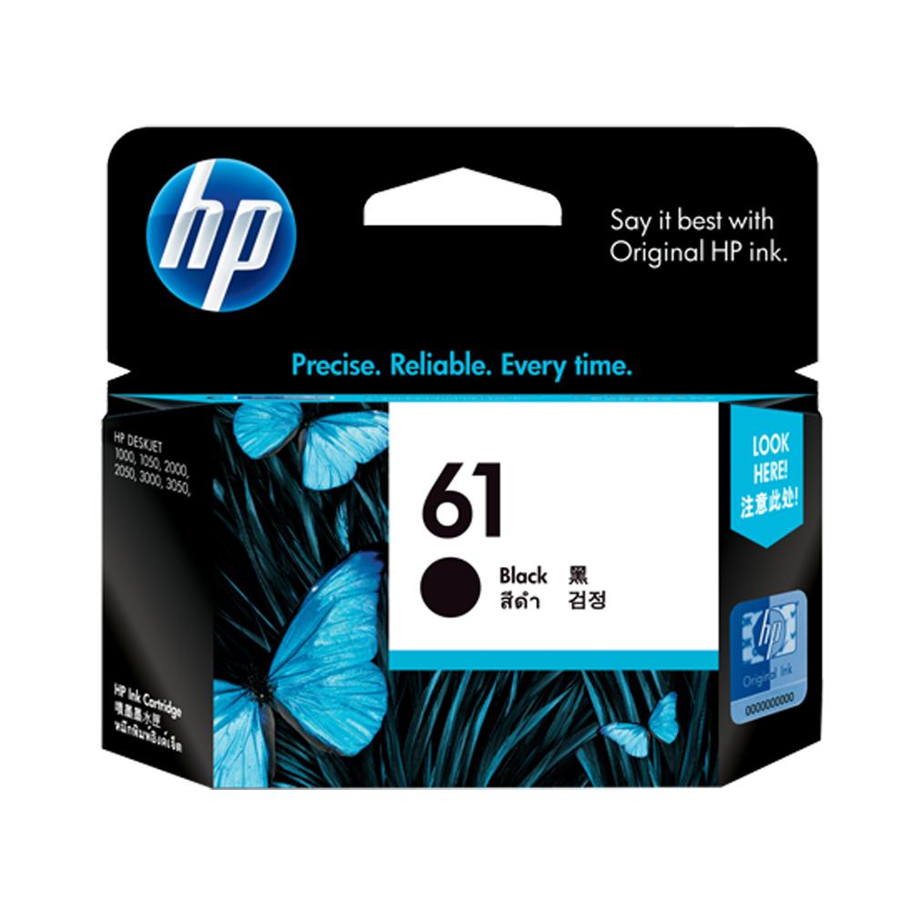HP  NO.61 原廠黑色墨水匣CH561WA