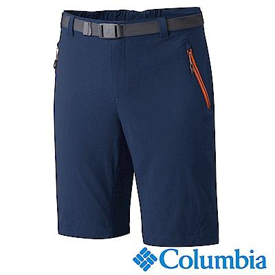 Columbia 哥倫比亞 男款- 防曬50防潑短褲-深藍 UAE15800DY