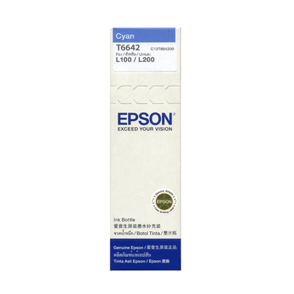 EPSON T664200 原廠藍色墨水匣