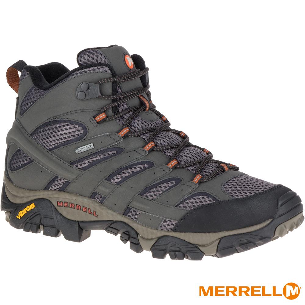 MERRELL MOAB 2 MID GTX 登山男鞋-墨綠(06059)