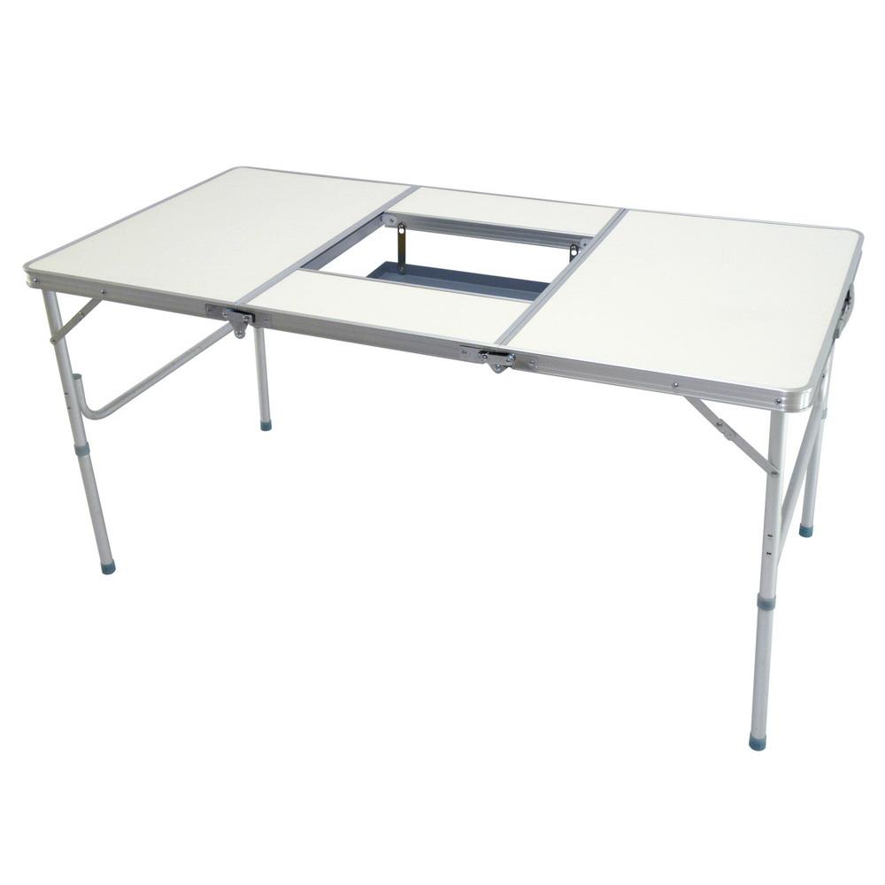 LIFECODE BBQ鋁合金折疊燒烤桌折疊桌烤肉桌