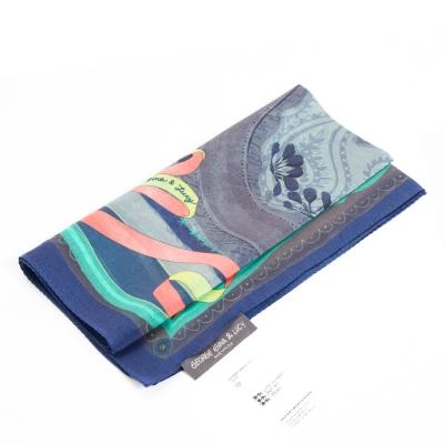 GG-L-PATCH-A-絲巾-混灰色印花