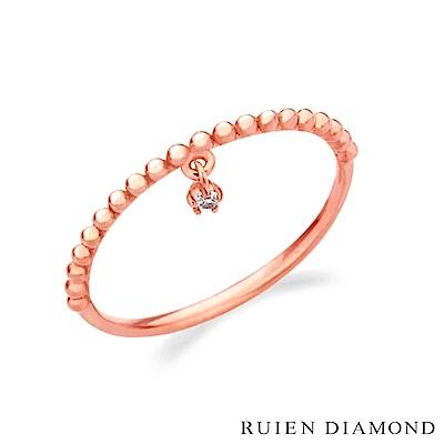 RUIEN DIAMOND 韓國輕珠寶 飾品 配件14K玫瑰金 戒指 JR6712