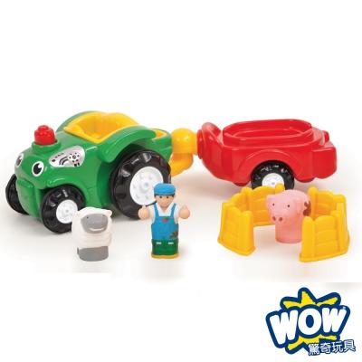 英國【WOW Toys 驚奇玩具】農場拖拉車 伯尼