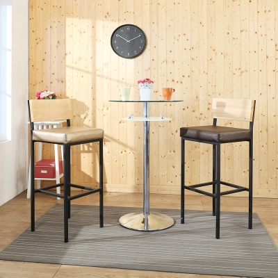 BuyJM香格里拉皮革吧檯椅/高腳椅/寬41x36x104公分-免組