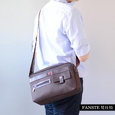 Fanste_梵仕特 側背包 多功能休閒商務包-1354
