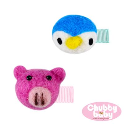 Chubby Baby巧比貝比 兒童寶寶髮夾Fluffy(E)