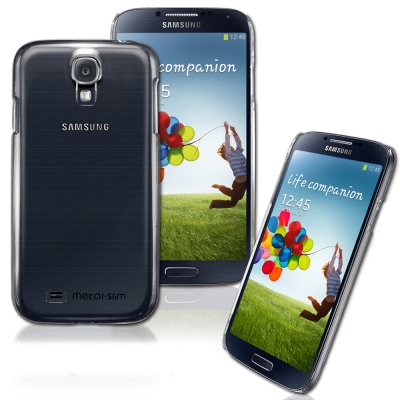 Metal-Slim Samsung Galaxy S4 PC透明系列 新型保護...
