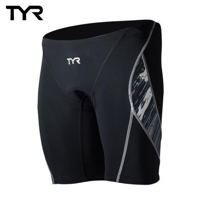 美國TYR 男性成人三鐵短褲 黑 VANGUARD 9 TRI PANTS