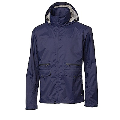 【HAKERS 哈克士】男-Explore 超輕量2.5L背包式防水外套-暮光藍