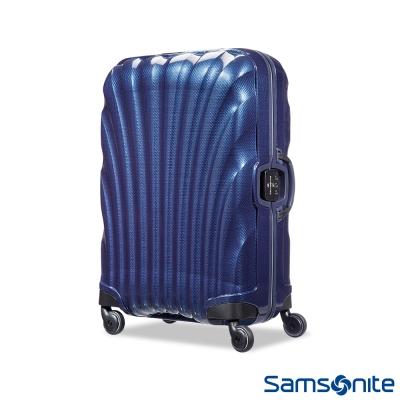 Samsonite新秀麗28吋Lite-Locked極輕Curv四輪拉桿貝殼硬殼箱海軍藍