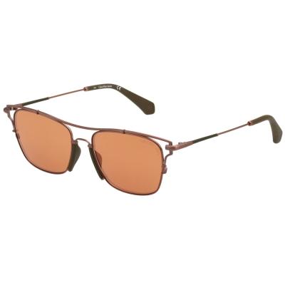 Calvin Klein- 水銀面太陽眼鏡(玫瑰金)CKJ166S-705