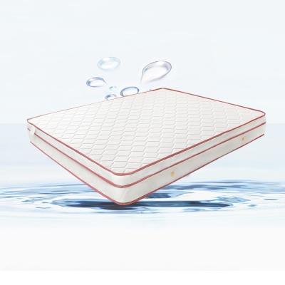 H&D 經濟型環保無毒系列-羅倫防潑水三線獨立筒床墊-雙人加大6x6.2尺 20cm