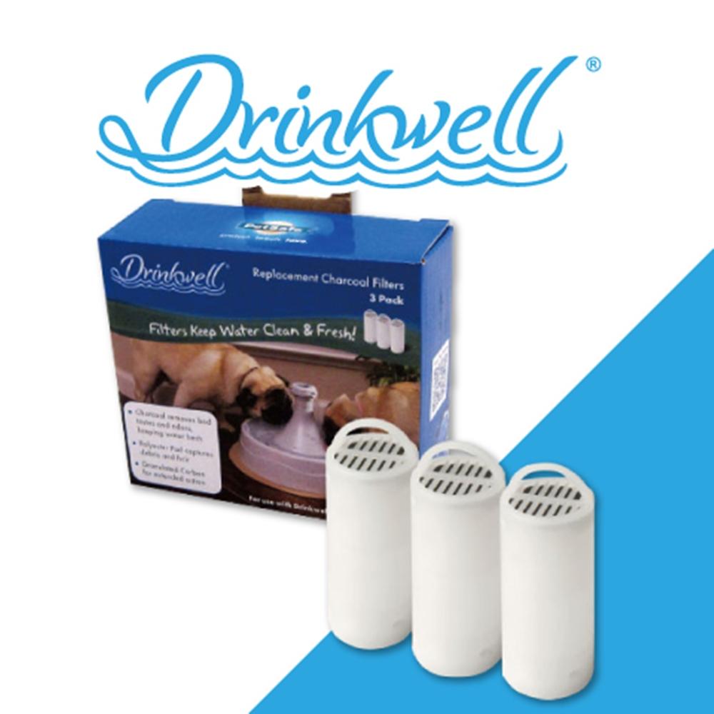 Drinkwell 好好喝 360度寵物噴泉活性碳濾芯 3入/組  兩盒組
