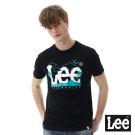 Lee海洋風大LOGO短袖圓領TEE/SMU-男款-黑色