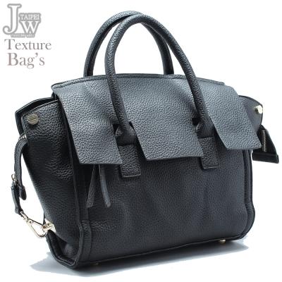 JW-伏爾泰荔枝紋斜背手提包-共二色