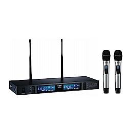 TEV 數位UHF真分集接收100頻道無線麥克風系統 TR9100