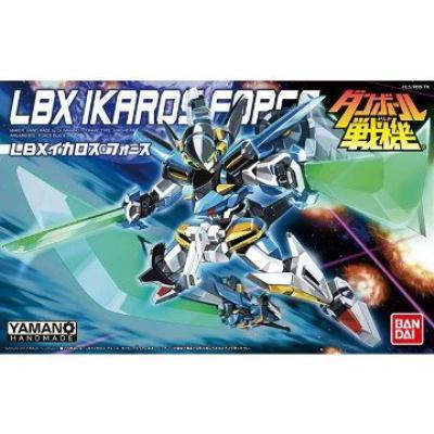 【BANDAI】LBX紙箱戰機/IKAROS FORCE 伊卡洛斯 強襲型 030