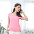 Victoria MIT抗菌涼感短T-女-粉紅