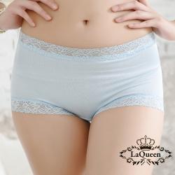 內褲  高質感蠶絲親膚內褲-淺藍 La Queen
