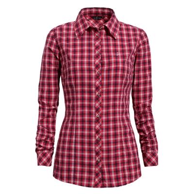 hilltop山頂鳥-女款吸濕快乾長袖襯衫S05F