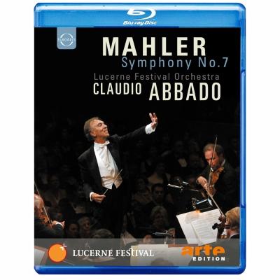 馬勒:第七號交響曲 阿巴多指揮琉森節慶管弦樂團藍光BD