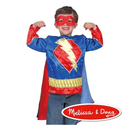 美國瑪莉莎-Melissa-Doug-角色扮演-超人英雄服遊戲組