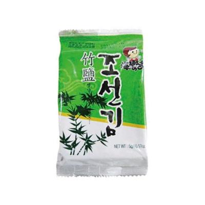 韓味不二 海樂多美味海苔-竹鹽(5gx12入)