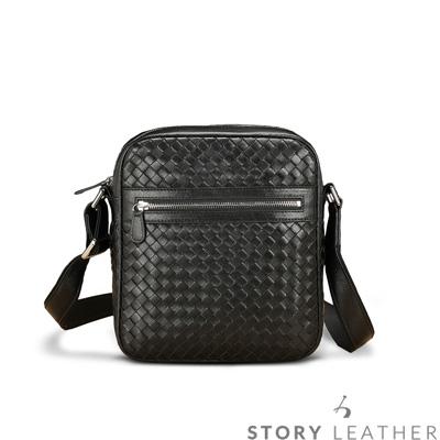 STORY 皮套王 - 羊皮編織側背包 Style 6751 訂做賣場