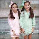 baby童衣 居家系列 珊瑚絨長版保暖帽T 50581