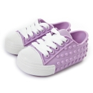 MINI MELISSA豆豆鞋-粉紫/白
