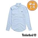 Timberland 男款藍色修身版襯衫