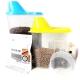 1kg瓶蓋飼料桶|零食保鮮桶附刻度量杯勺杯 product thumbnail 1