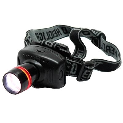 3W3段聚焦擴散頭戴式強光LED頭燈(CW-5301)