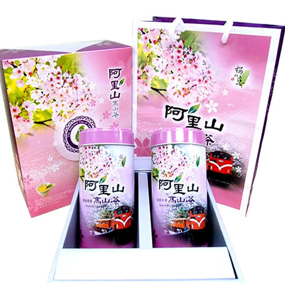 《新造茗茶》阿里山頂級手採烏龍禮盒 (150g x 2罐)