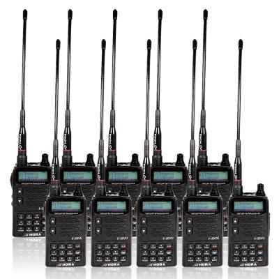 HORA F~30VU VHF UHF 雙頻無線電對講機  10入組