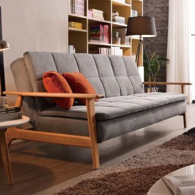 沙發床 比佛利 絲絨布三人座沙發床 品家居