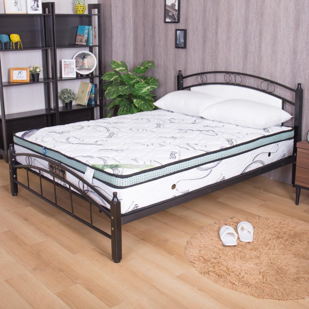 亞爾曼 超Q彈頂級乳膠正三線單人加大3.5尺獨立筒床墊
