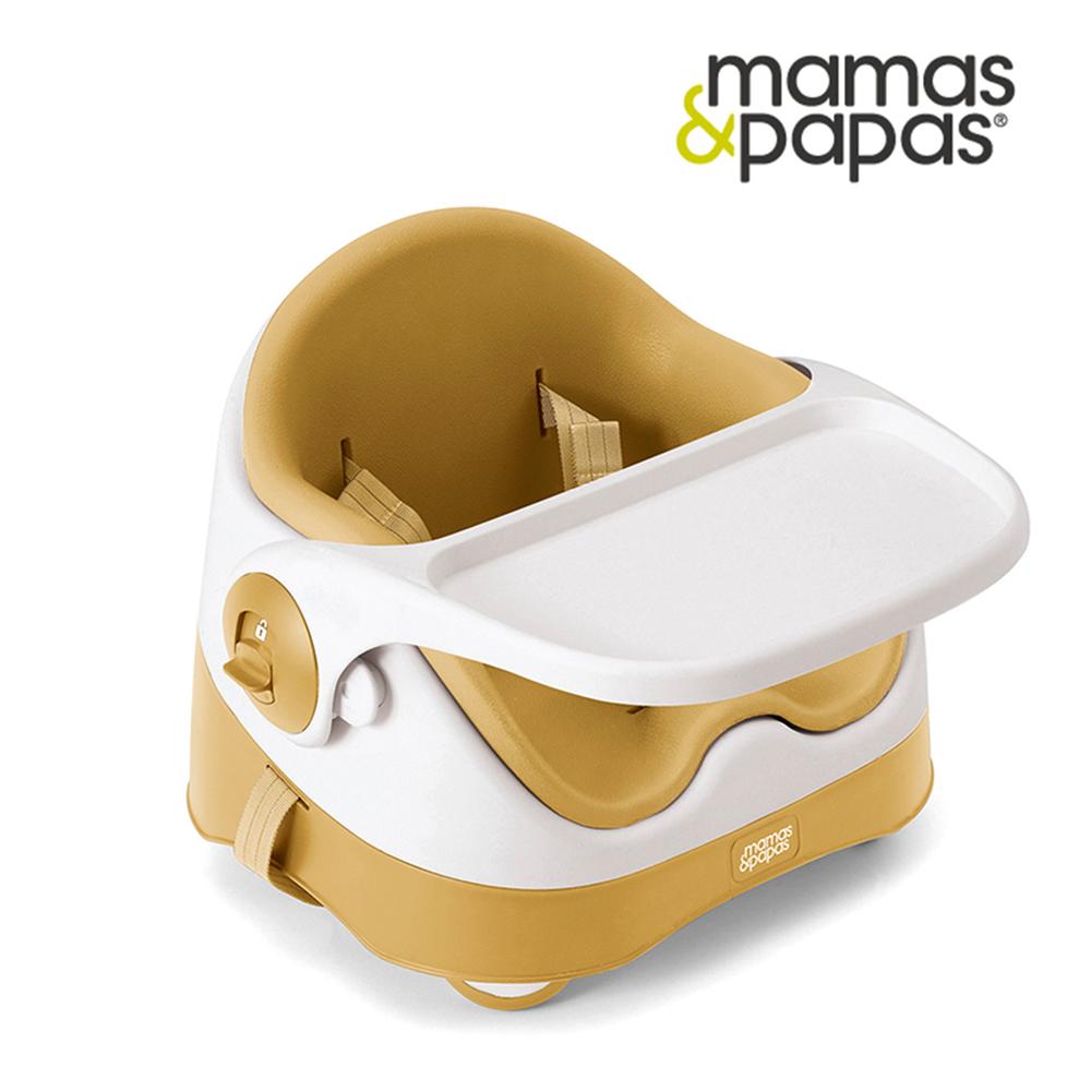 [送拼胖球]【Mamas & Papas】三合一都可椅/餐椅-杏桃黃