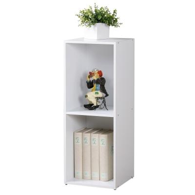 Homelike 現代風二格置物櫃-DIY