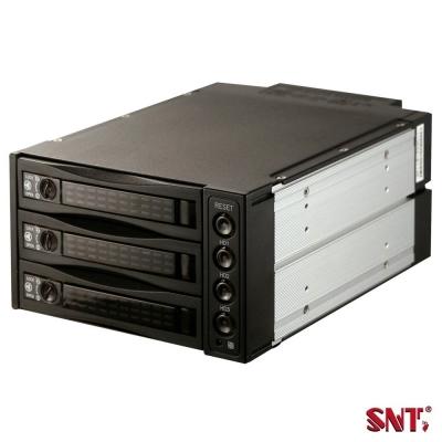 SNT 2.5/3.5吋SAS/SATA三槽硬碟抽取模組-ST-2131SS
