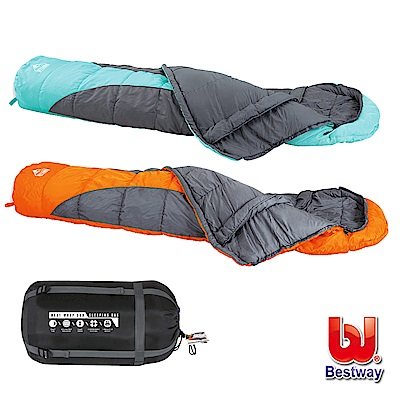 《凡太奇》Bestway。保暖透氣包頭睡袋 68049