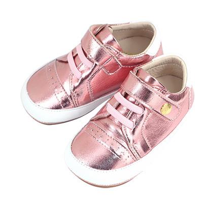 Swan天鵝童鞋-星星雕花休閒寶寶鞋 1531-粉