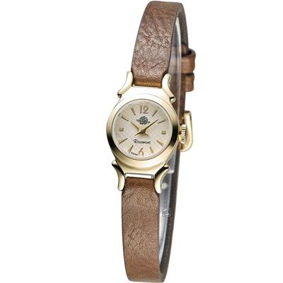 Rosemont 玫瑰米蘭系列時尚錶-咖啡/15mm (TRS41-01-BR)