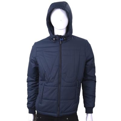 VERSACE 絎縫字樣深藍色防風連帽夾克