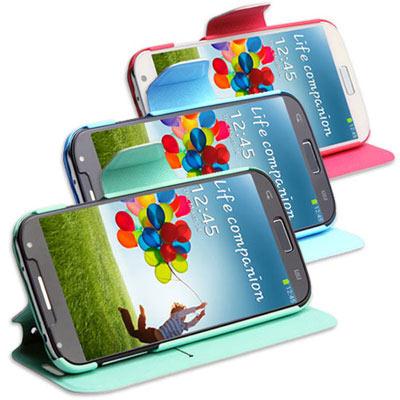 GOOCHOICE-龜嚴選-Samsung-S4-超薄側掀摺疊-保護皮套