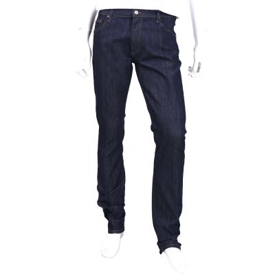 VERSACE 深藍色線條設計牛仔長褲