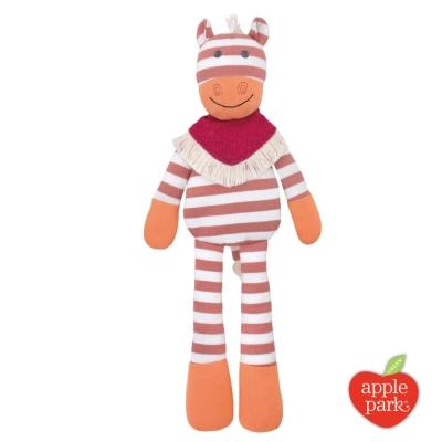【美國 Apple Park】農場好朋友系列 有機棉安撫玩偶 - 牛仔小馬