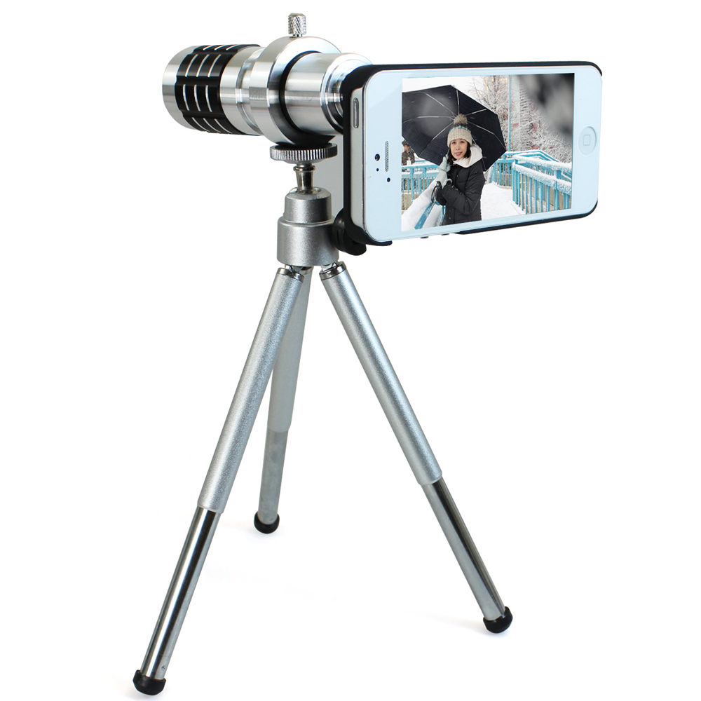 iStyle iPhone5/5S 12倍望遠攝影鏡頭組