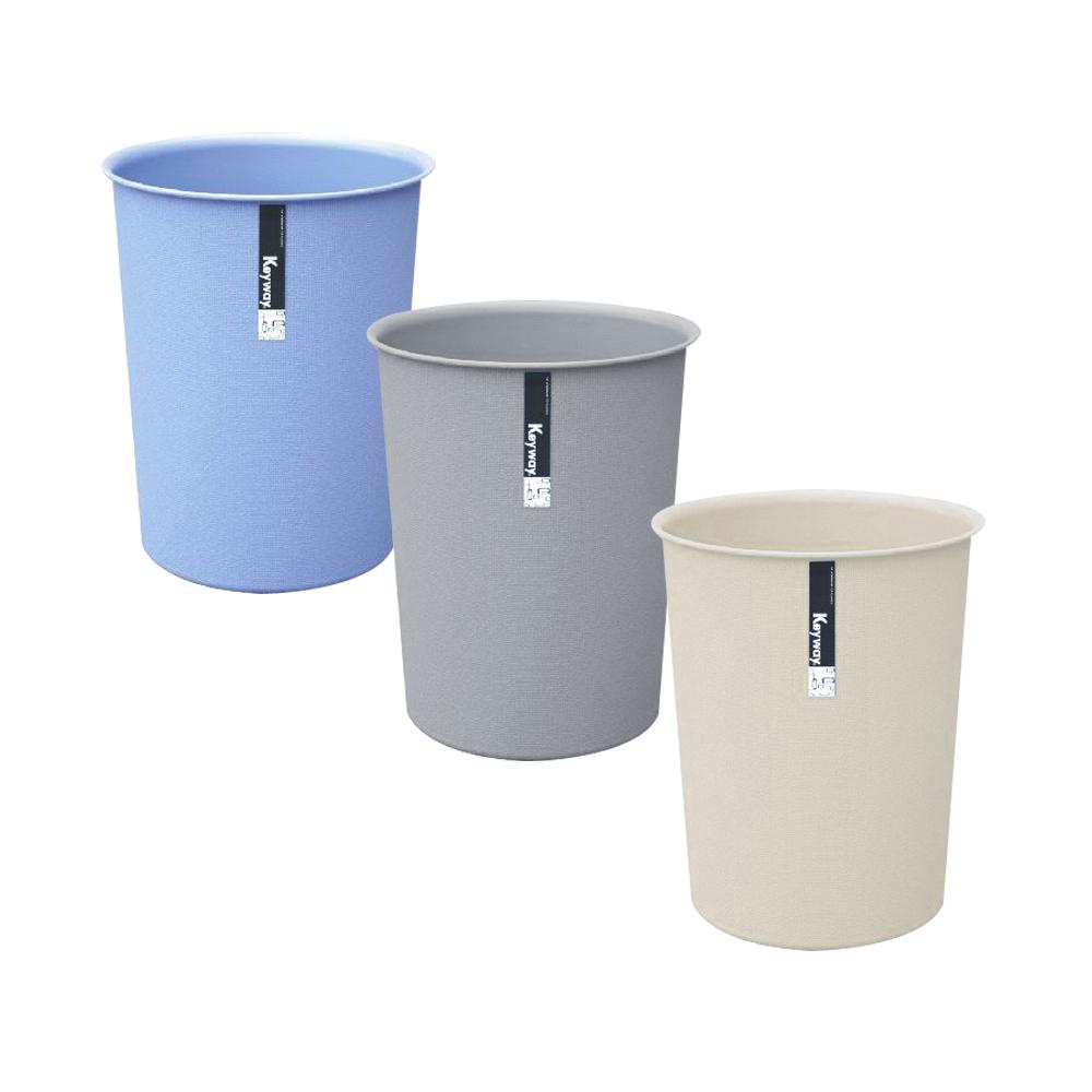 KYOTO圓型小垃圾桶5.5L(三入)組